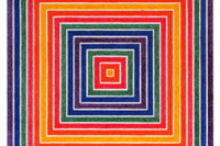 フランク・ステラ MULTICOLORED SQUARES I