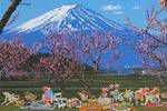 Yamagata Hiro  Essence of Japan – Enjoying seeing cherry blossom in Mt.Fuji