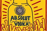 キース・へリング Absolut Vodka