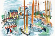 Raoul Dufy Port of Deauville: From the coast of Normandy