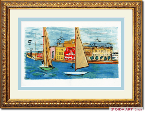 Raoul Dufy Deauville's regatta: From the coast of Normandy