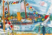Raoul Dufy Deauville mattress: From the coast of Normandy