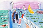 Raoul Dufy Deauville's jetty: From the coast of Normandy