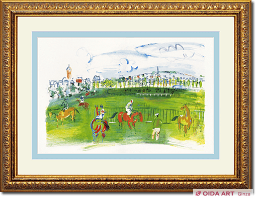 Raoul Dufy Racecourse: From the coast of Normandy