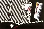 Lichtenstein Roy Figures with Rope