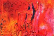 Marc Chagall Print 2 of Arabian Nights Entertainments album