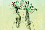 Jean Jansem Flower hat girl
