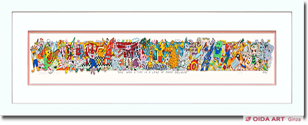 ジェームス・リジィ ONCE UPON A TIME IN A LAND OF MAKE BELIEVE