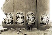 バンクシー Souvenir Wall Section