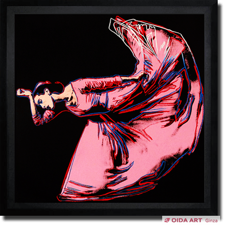 Warhol Andy MARTHA GRAHAM LETTER TO THE WORLD (THE KICK)