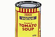 バンクシー Soup Can (Yellow)