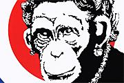 バンクシー Monkey Queen