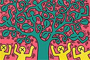 キース・へリング Tree of Life