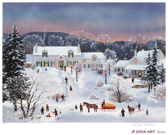 ニューイングランドの冬 | 絵画...