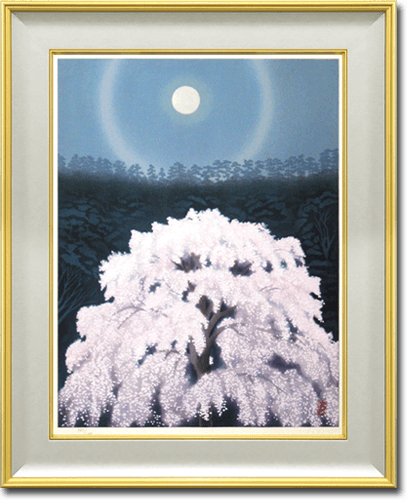 Higashiyama Kaii(new reprint) Blossoms (new wood block reprint)