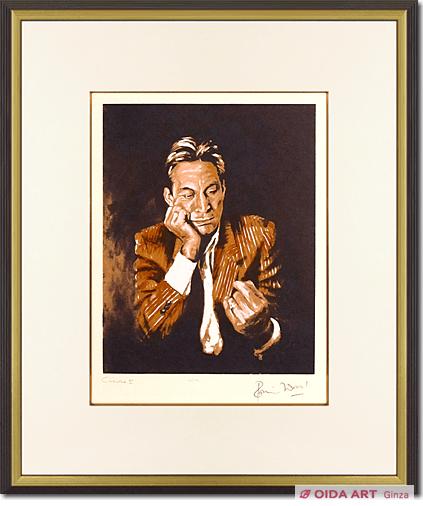 ロン・ウッド「チャーリーII」 絵画販売・絵画買取 銀座のおいだ美術です。現代アート・日本画・洋画・版画・彫刻など美術品の豊富な販売・買取実績ございます。