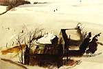 Andrew Wyeth Winter