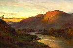 アルフレッド・ブリアンスキー スコットランドの渓谷