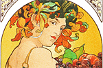 Mucha Maria Alphonse Fruits