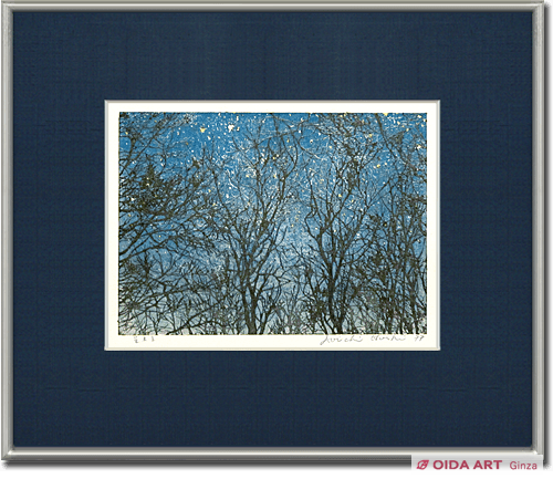 Hoshi Joichi Trees in starry sky