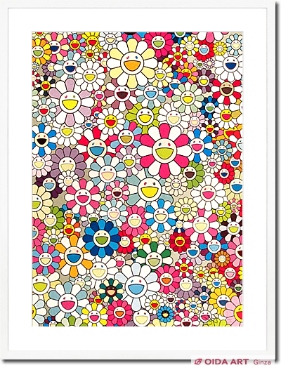 Murakami Takashi An Homage to Yves Klein,Multicolor C,2012