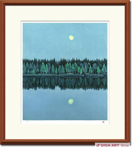 東山魁夷「二つの月」