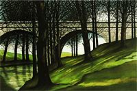デペルト 森の中の橋