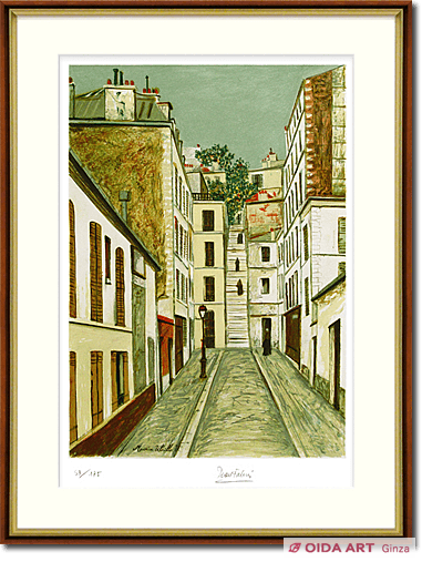 Utrillo Maurice  Passage Cottin