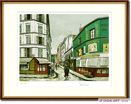 Utrillo Maurice  French restaurant