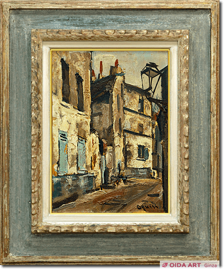 Oguiss Takanori Saint-Denis  –  Alley with streetlamp