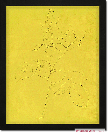 Warhol Andy A GOLD BOOK Flower