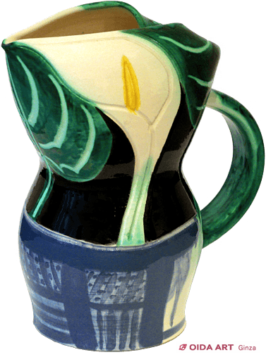 Picasso Pablo pitcher with arums