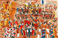 Dufy Raoul Orchestra from engel's concert