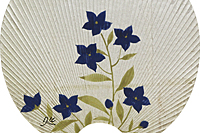 Kayama Matazo Fan (Bellflower)