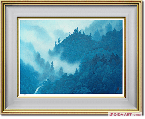 Higashiyama Kaii Cloud in the mountains (new reprint picture)