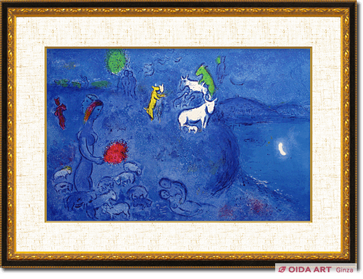 Marc Chagall Spring from Daphnis and Chloe