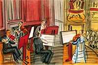 Raoul Dufy String quintet from angel's concert