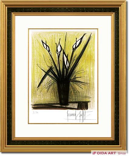 Bernard Buffet Color from plant chart collection