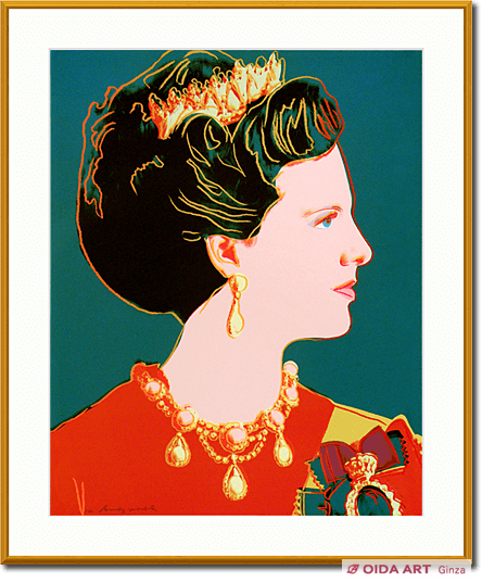 ウォーホル Queen Margrethe(#343)