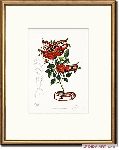 バラの記憶(「シュルレアリスムの花」より) | 絵画など美術品の販売 ...