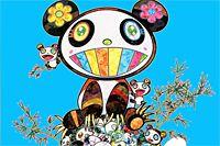 村上隆 パンダの親子「幸せ~」