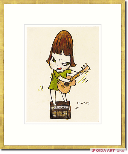 奈良美智 Untitled (Guiter girl)