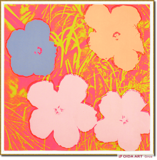 Andy Warhol FLOWERS #69