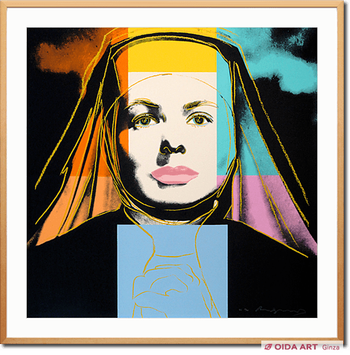 Andy Warhol INGRID BERGMEN The Nun
