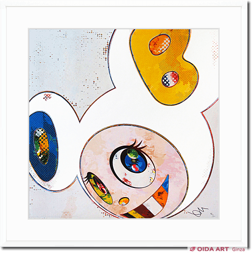 Murakami Takashi And Then×6 (White:The Superflat Method,Blue and Yellow Ears)