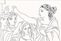 Pablo Picasso Oath of women from LYSISTRATA