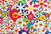 Murakami Takashi If I Could Reach That Field Of Flowers I Would Die Happy
