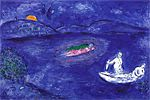 Chagall  Marc Wood alcohol from Daphnis and Chloe