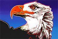 "Warhol Andy The kind on the verge of extinction ""Bald Eagle"""