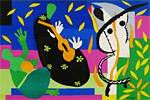 Matisse Henri King sadness from VERVE